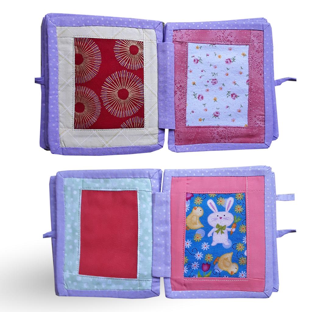 libro-textura-tela 100% algodón-lila