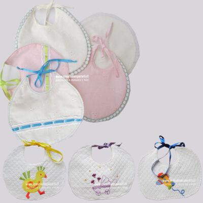baberos recién nacidos
